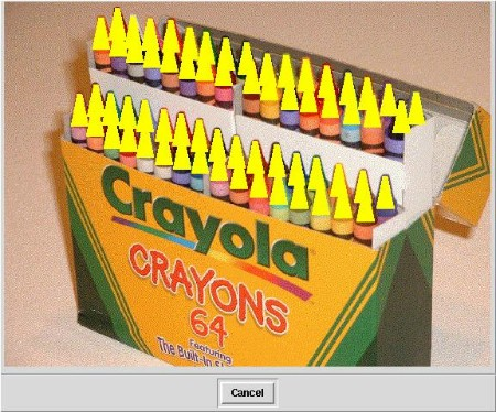 Figure 2. -- Crayons with Yellow Tips